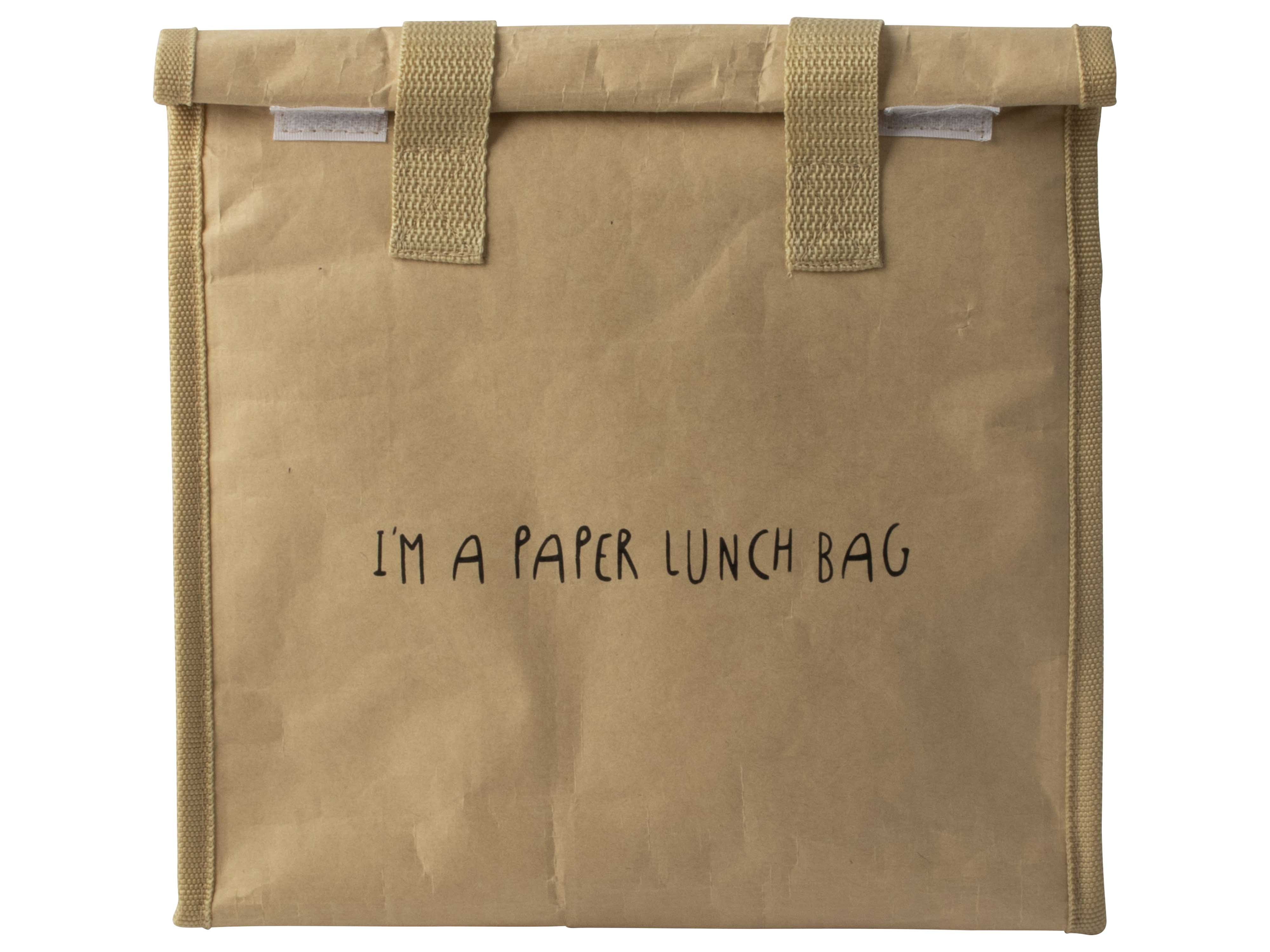 Paper Lunch/coolbag 26.5x30x14.5cm Gift