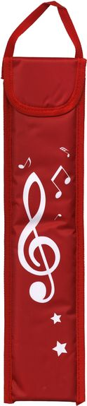 Recorder Bag Red                                             Music Gift