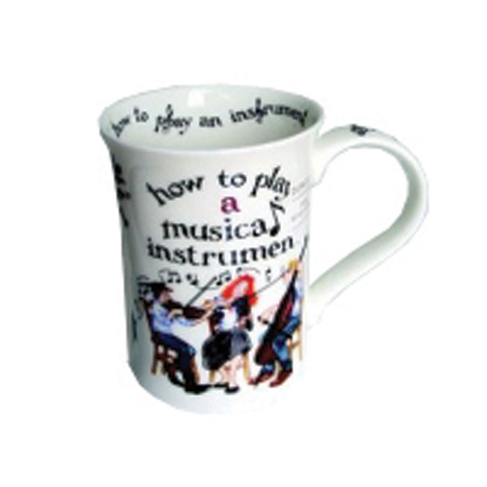 Dunoon Mug Cotswold How To Play Musical Instrument           Music Gift