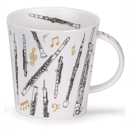 Dunoon Mug Cairngorm Encore Winds                            Music Gift