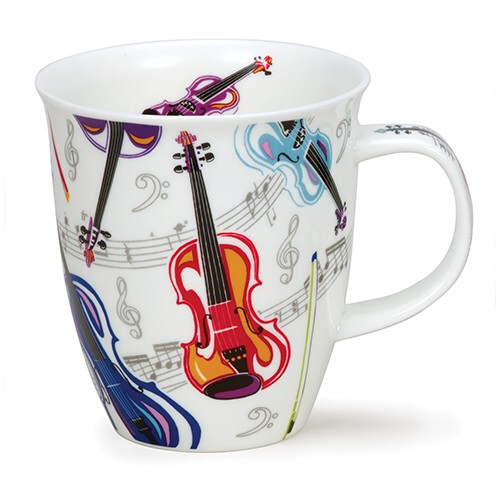 Dunoon Mug Nevis Tempo Strings                               Music Gift