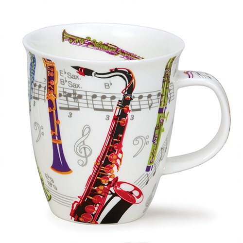 Dunoon Mug Nevis Tempo Woodwind                              Music Gift