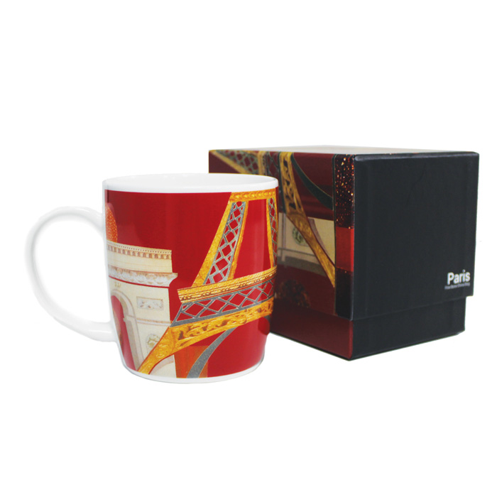 Bone China Boxed Mug Spirit Paris                            Music Gift