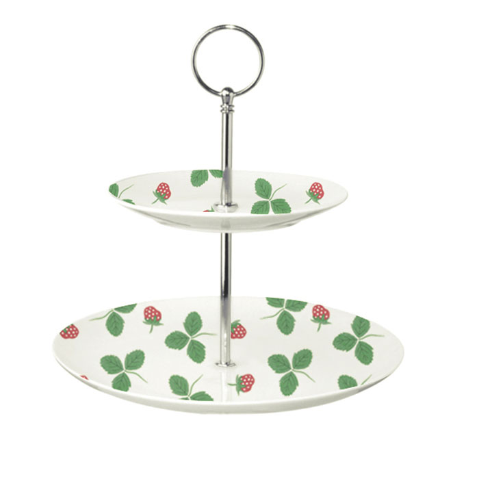 Strawberry Cake Stand Hinchcliffe And Barber                 Music Gift