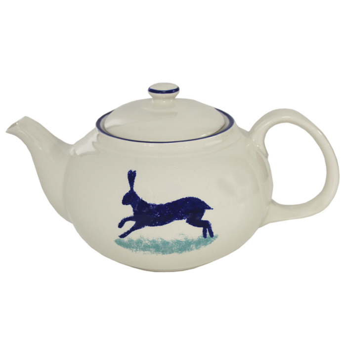 Dorset Delft Teapot Hare Hinchcliffe & Barber Pk 2           Music Gift