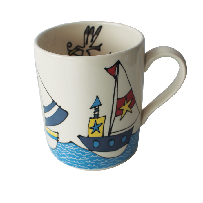 Gallery Thea Mug Boats & Sea Pack 6                          Music Gift
