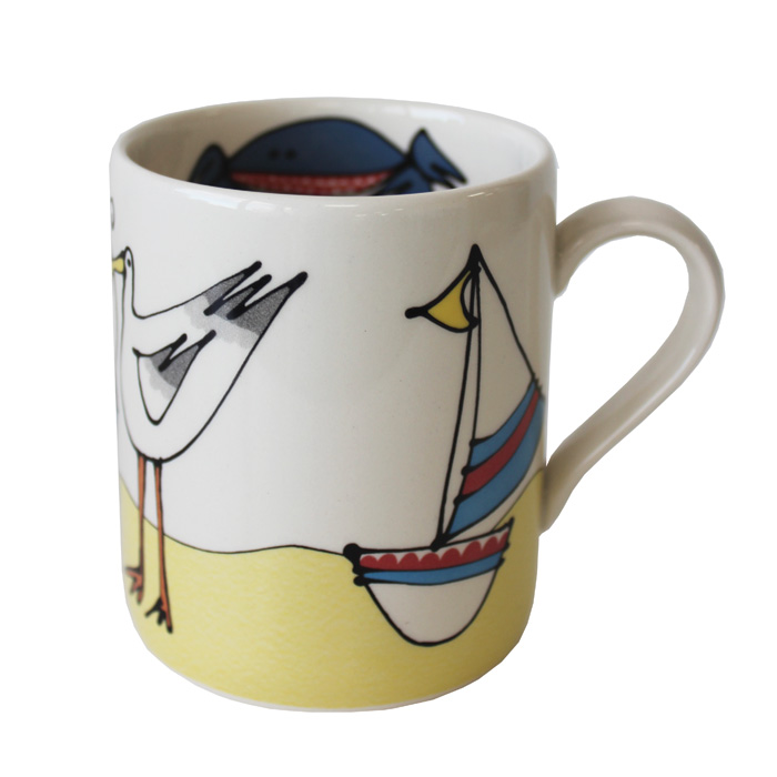 Gallery Thea Mug Seaside Pack 6                              Music Gift