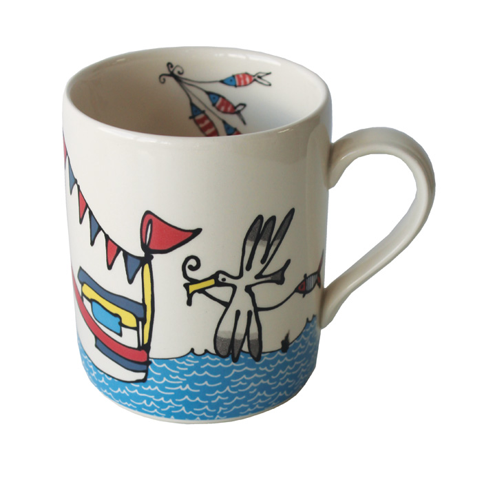 Gallery Thea Mug Gone Fishing Pack 6                         Music Gift