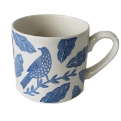 Songbird Blue Mug Hinchcliffe And Barber Single              Music Gift
