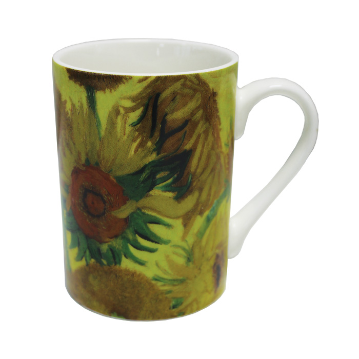 National Gallery Boxed Mug Sunflowers 6 Pack                 Music Gift