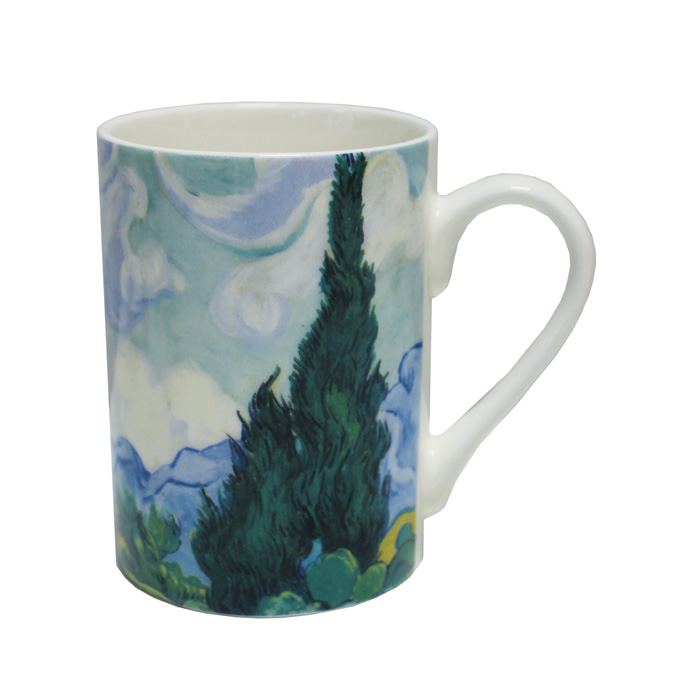 National Gallery Boxed Mug A Wheatfield 6pk                  Music Gift