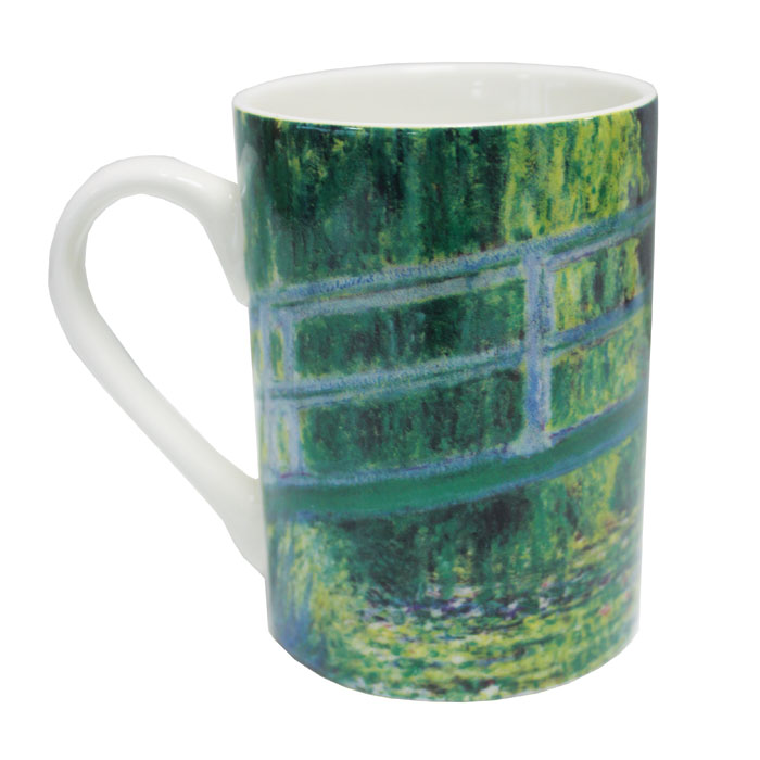 National Gallery Boxed Mug The Water-lily Pond 6pk           Music Gift