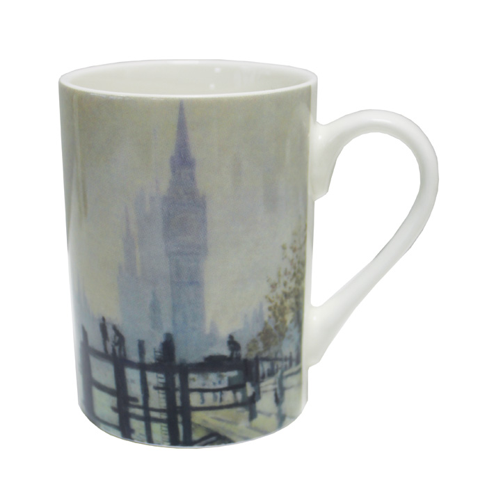 National Gallery Boxed Mug The Thames 6 Pk                   Music Gift