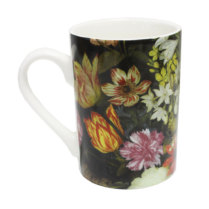 National Gallery Boxed Mug Still Life Flowers 6pk            Music Gift