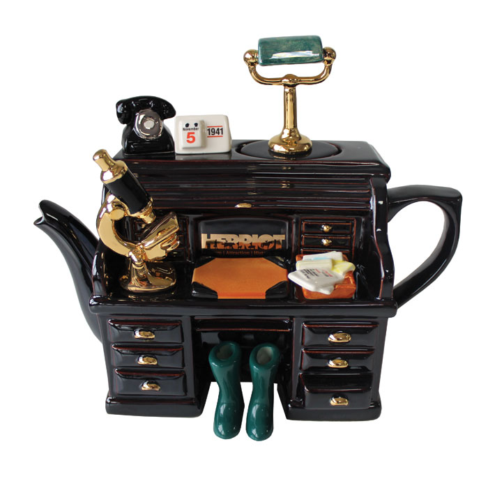Teapot Herriot Desk Limited Edition                          Music Gift