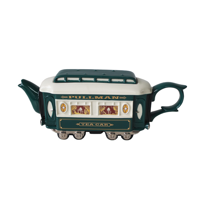 Teapot Pullman Green Limited Edition                         Music Gift