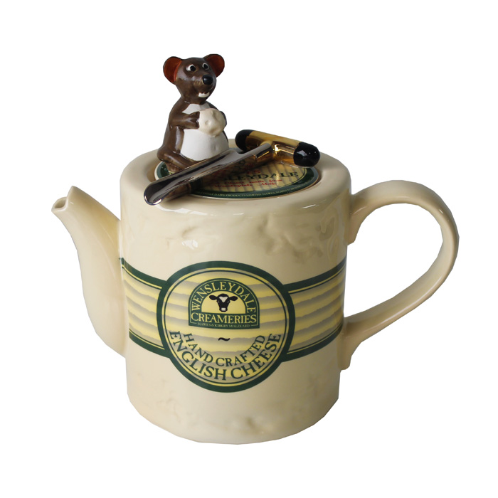 Teapot Wensleydale Cheese Limited Edition                    Music Gift