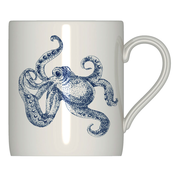 Royal Stafford Ocean Blue Mug 6 Pack                         Music Gift