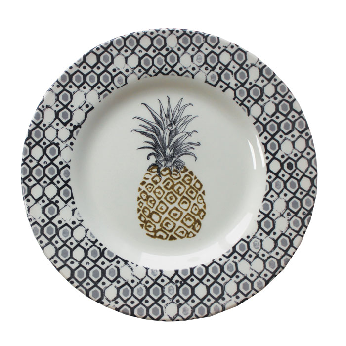 Royal Stafford Pineapple Side Plate 22cm 6 Pack              Gift