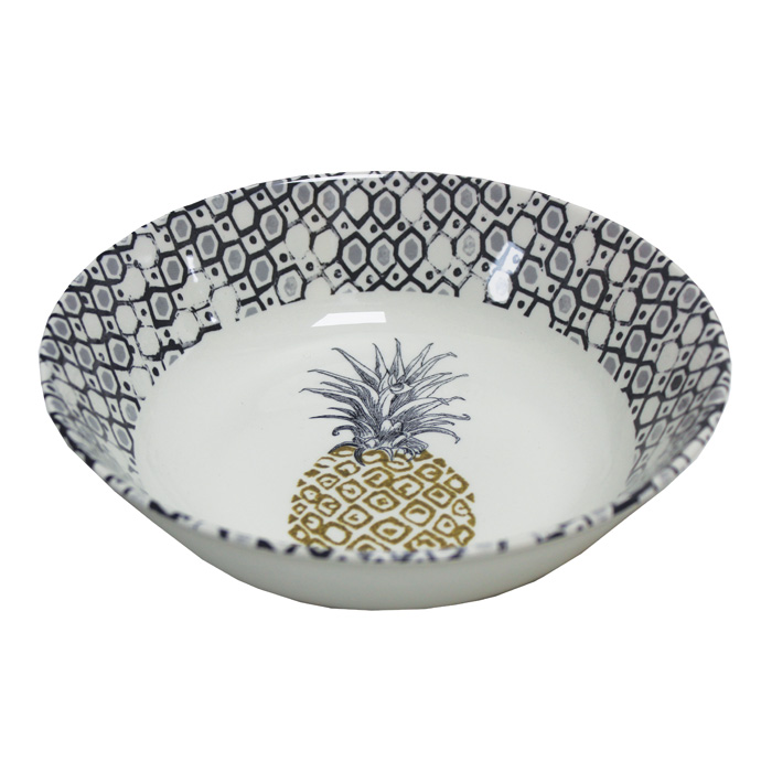 Royal Stafford Pineapple Cereal Bowl 19cm 6 Pack             Gift