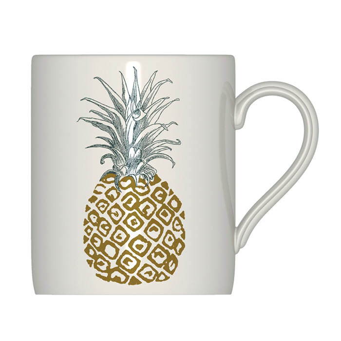 Royal Stafford Pineapple Mug 6 Pack                          Music Gift