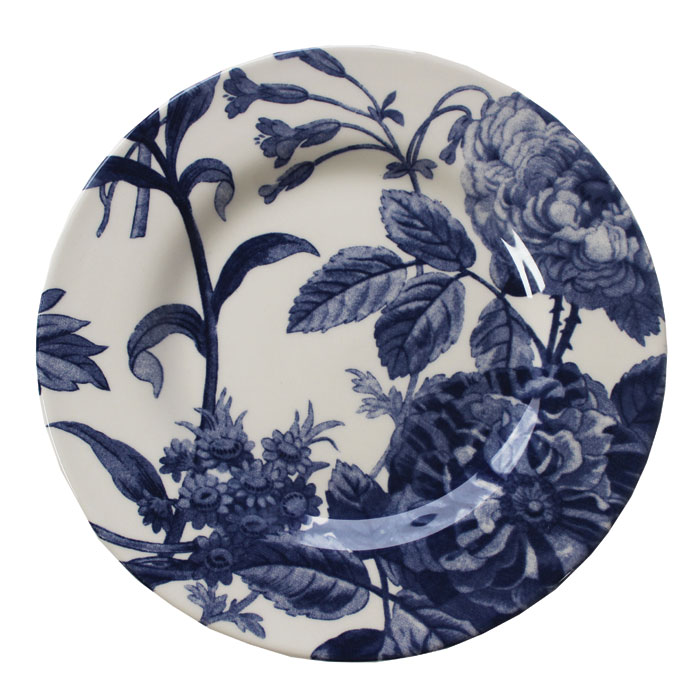 Royal Stafford Floral Weave Side Plate Blue 6pk              Music Gift