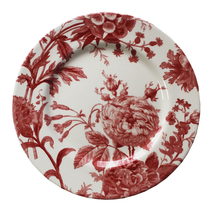 Royal Stafford Floral Weave Dinner Plate Red 6pk             Music Gift