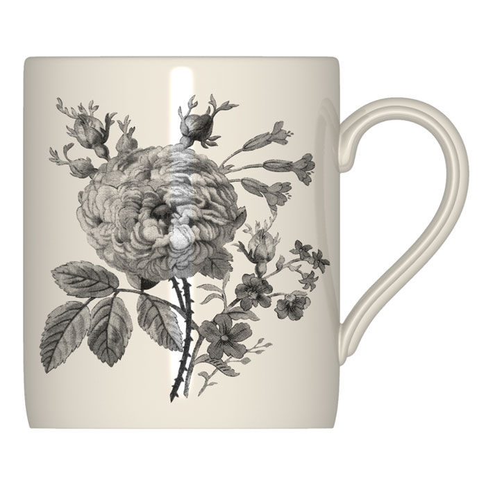 Royal Stafford Floral Weave Mug Black 6 Pack                 Music Gift