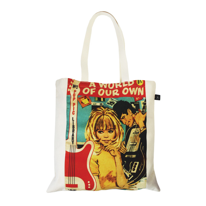 Land of Lost Content Shopper Bag A World Of Our Own                          Music Gift