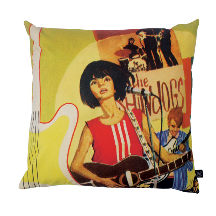 Land of Lost Content Cushion Cover We Can Work It Out                        Music Gift