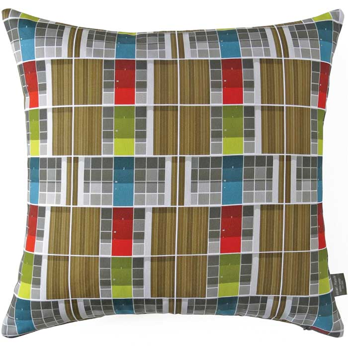Oscar Francis Cushion Cover Willow Road Doors                Music Gift