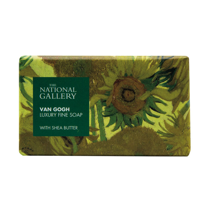 National Gallery Individual Soap Van Gogh X8                 Music Gift
