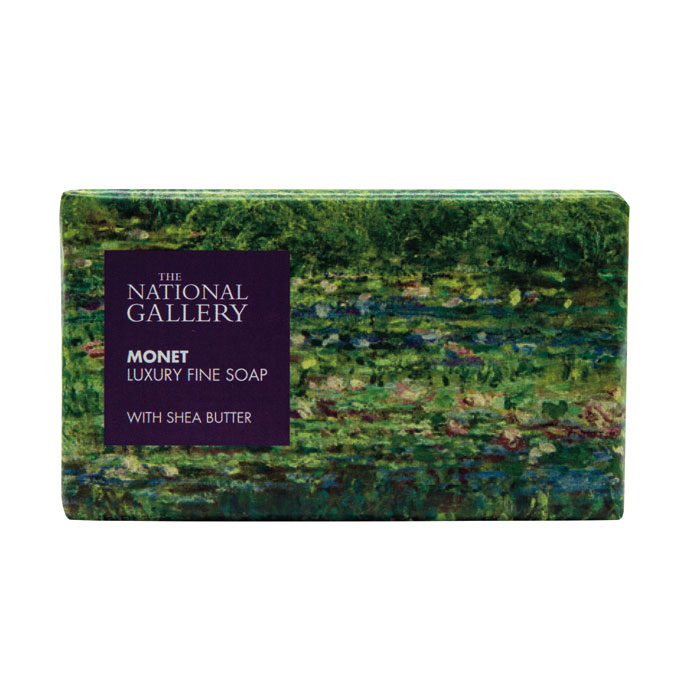 National Gallery Individual Soap Monet X8                    Music Gift