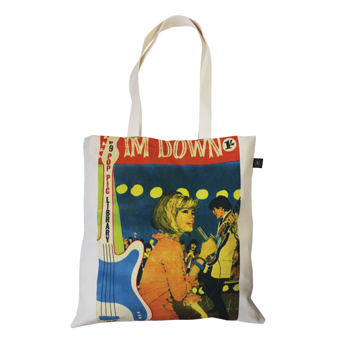 Land of Lost Content Shopper Bag Im Down                                    Music Gift