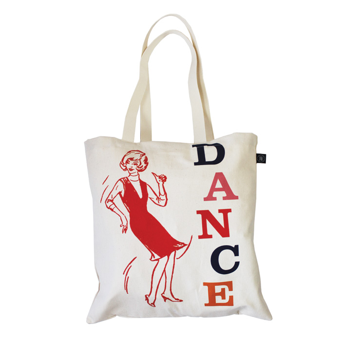 Land of Lost Content Shopper Bag Dance                                       Music Gift