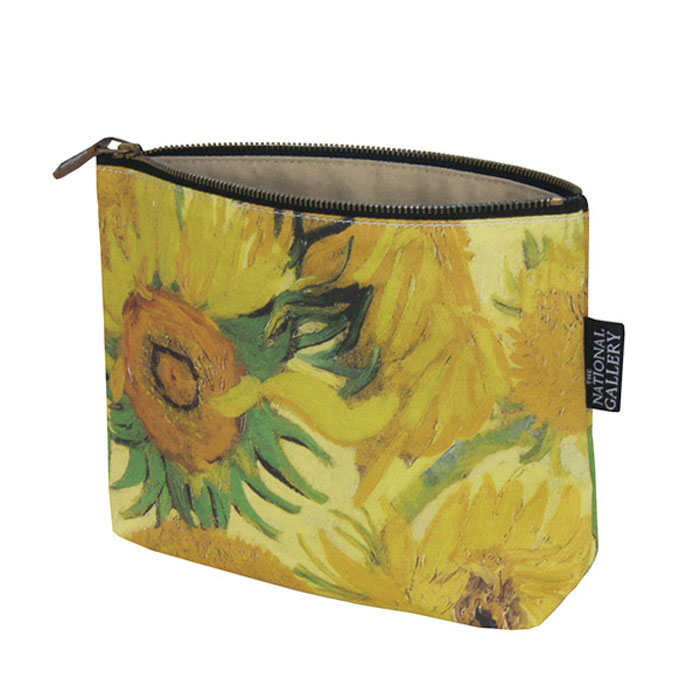 National Gallery Cosmetic Purse Sunflowers X5                Music Gift