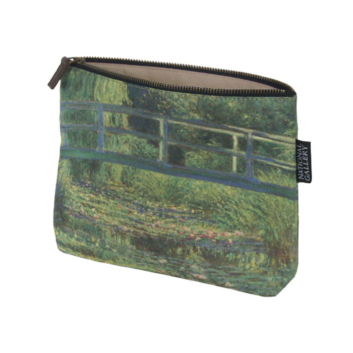 National Gallery Cosmetic Purse Water Lily Pond X5           Music Gift