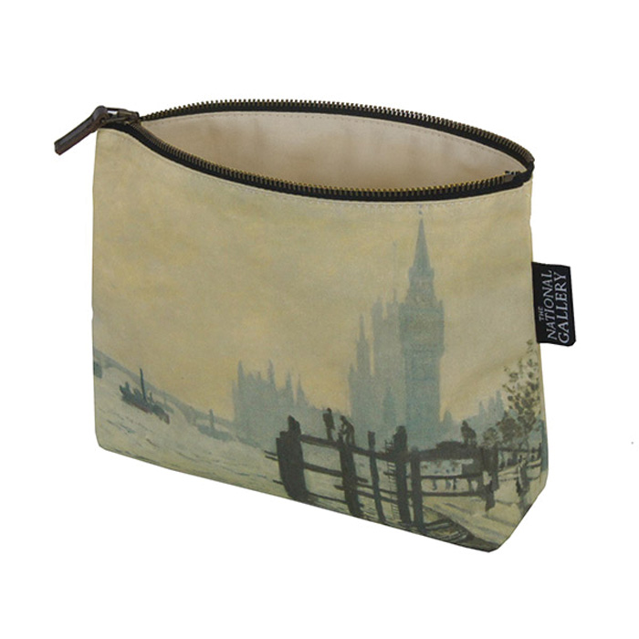 National Gallery Cosmetic Purse Monet Thames X5              Music Gift