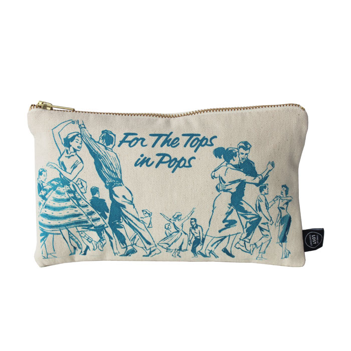 Land of Lost Content Pencil Case Tops In Pops Blue                           Music Gift