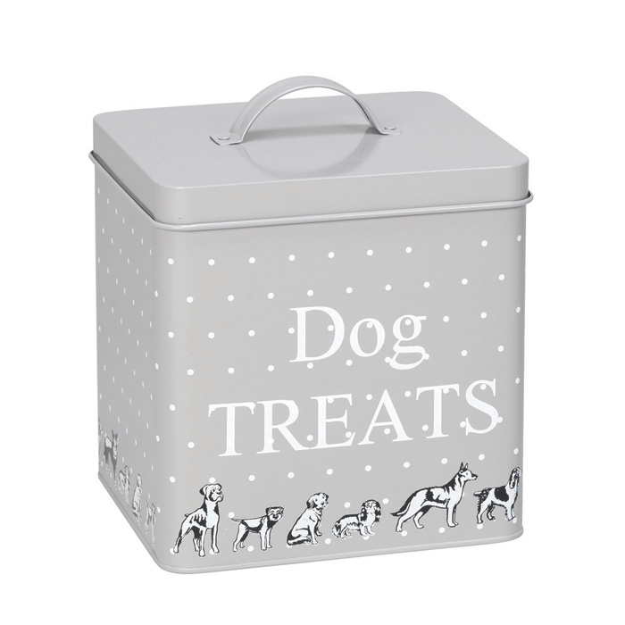 House Of Paws Polka Dogs Treat Tin Small                     Music Gift