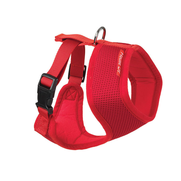 House Of Paws Memory Soft Harness Red L                      Gift