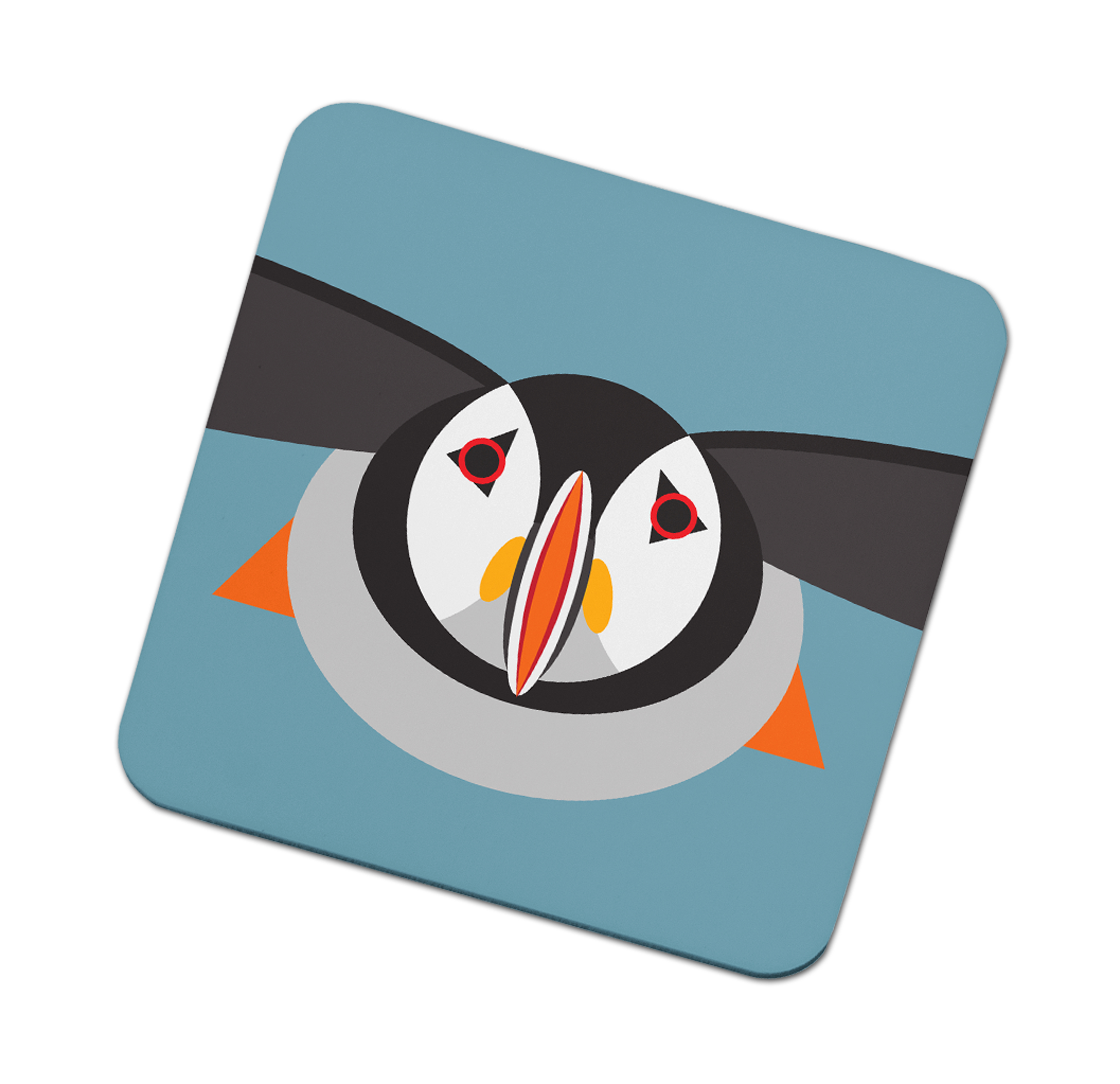 I Like Birds Coasters Puffin                                 Music Gift