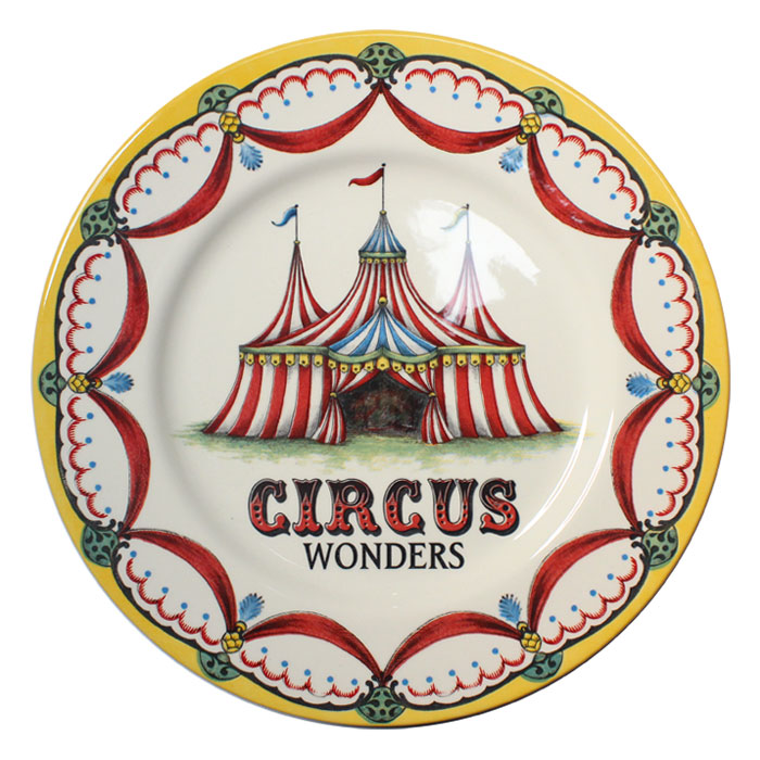 Royal Stafford Circus Wonders Dinner Plate Pack 6            Music Gift