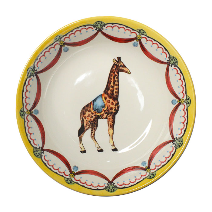Royal Staffs Circus Wonders Cereal Bowl Giraffe X6           Music Gift