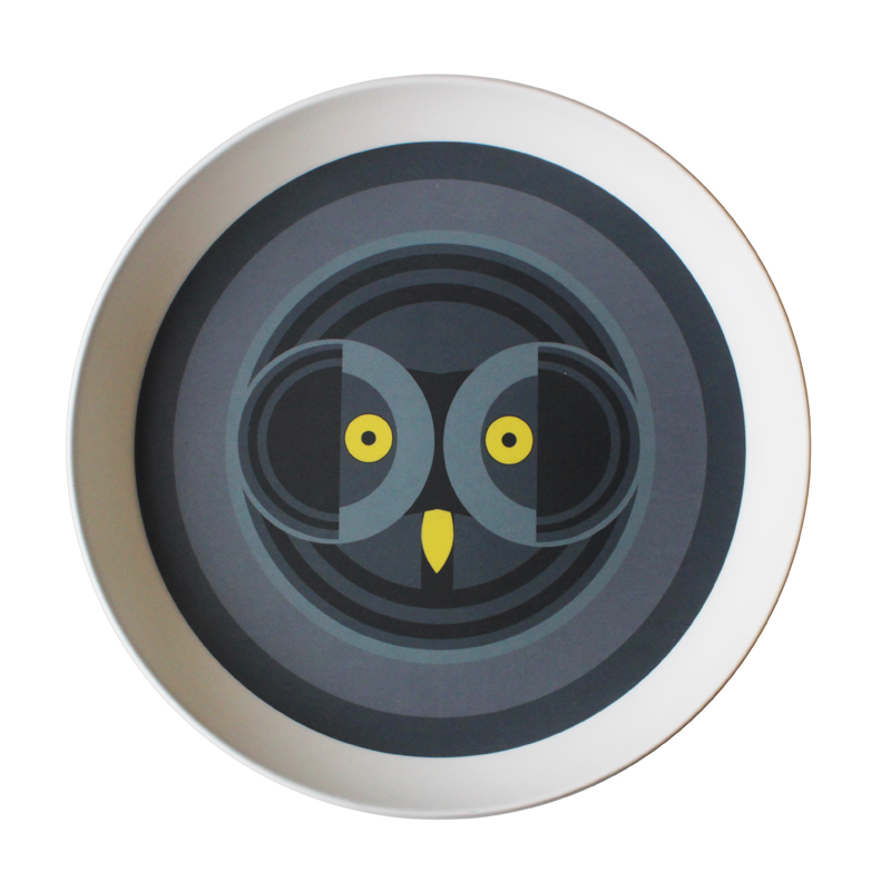 I Like Birds Round Tray Owl                                  Music Gift