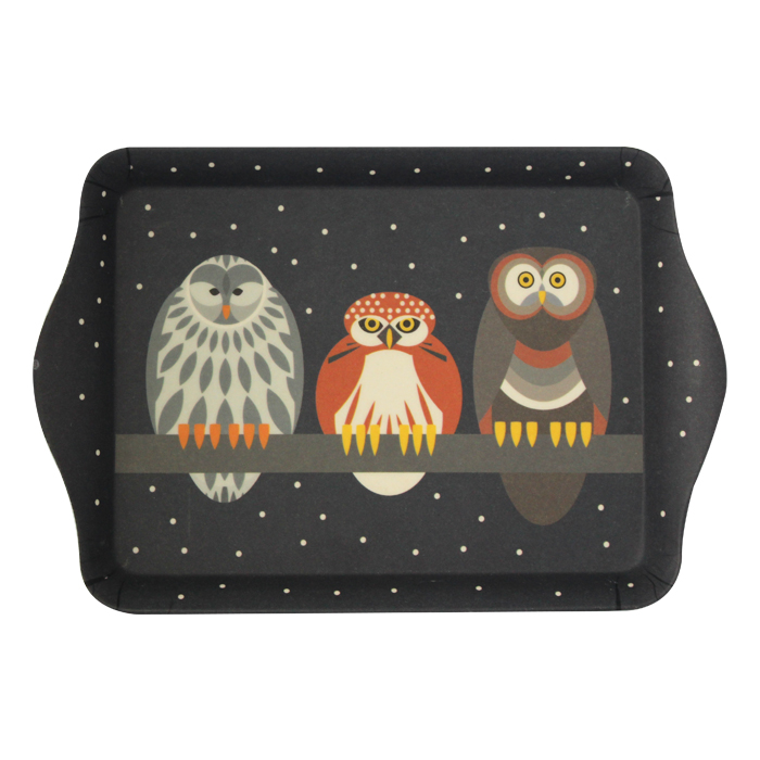 I Like Birds Sandwich Tray Owl                               Music Gift