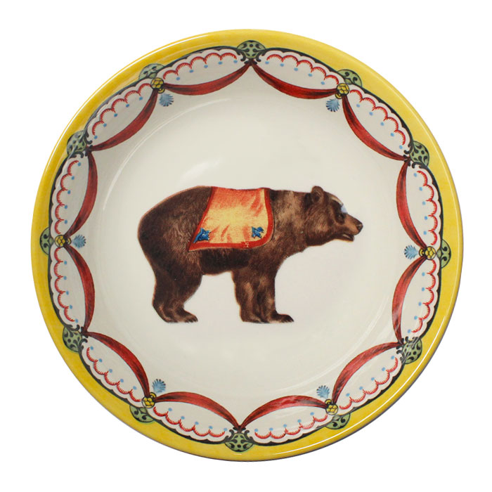 Royal Stafford Circus Wonders Cereal Bowl Bear Pack 6        Music Gift