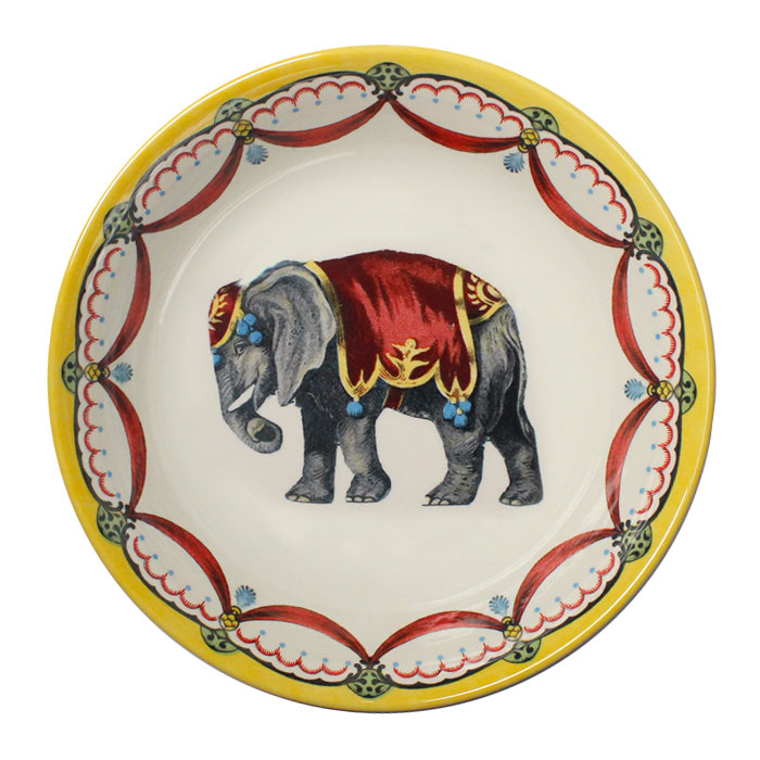 Royal Stafford Circus Wonders Cereal Bowl Elephant Pack 6    Music Gift