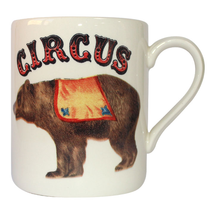 Royal Stafford Circus Wonders Mug Bear Pack 6                Music Gift