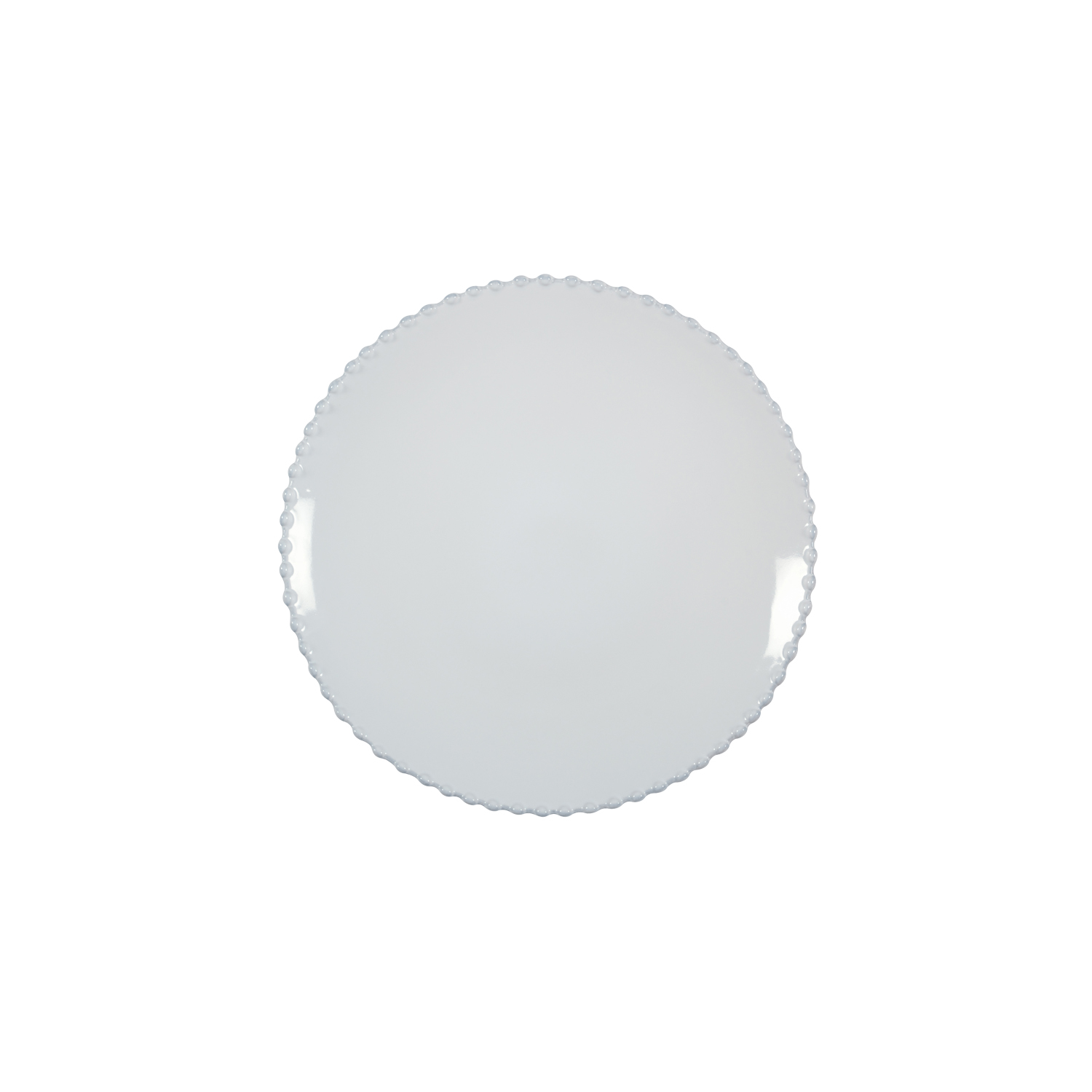 Pearl White Salad Plate 22cm X6                              Music Gift